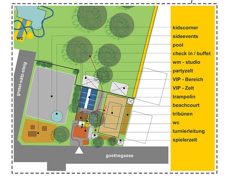 BEACHDAYS - Event-Management, Organisation, Turnierleitung, Moderation (2006)