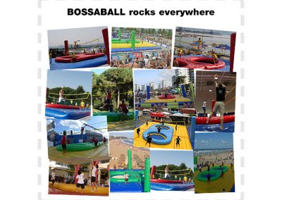 BOSSABALL - Courts & Action
