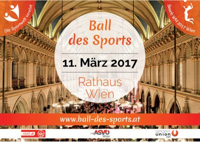 Ball des Sports - Flyer