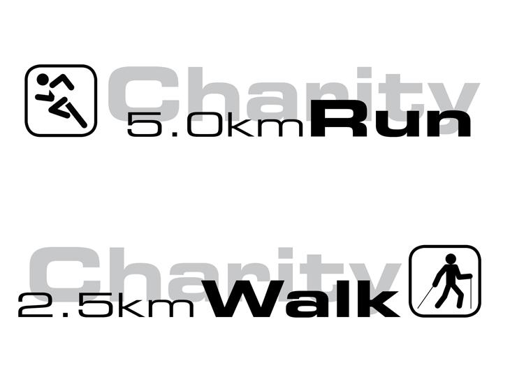 EFORT Walk & Run - Event-Organisation, Branding, Logo-Entwicklung, Flyer, T-Shirts (2009)