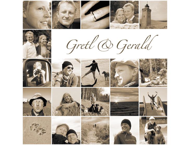 Gretl & Gerald - Hochzeits-Folder
