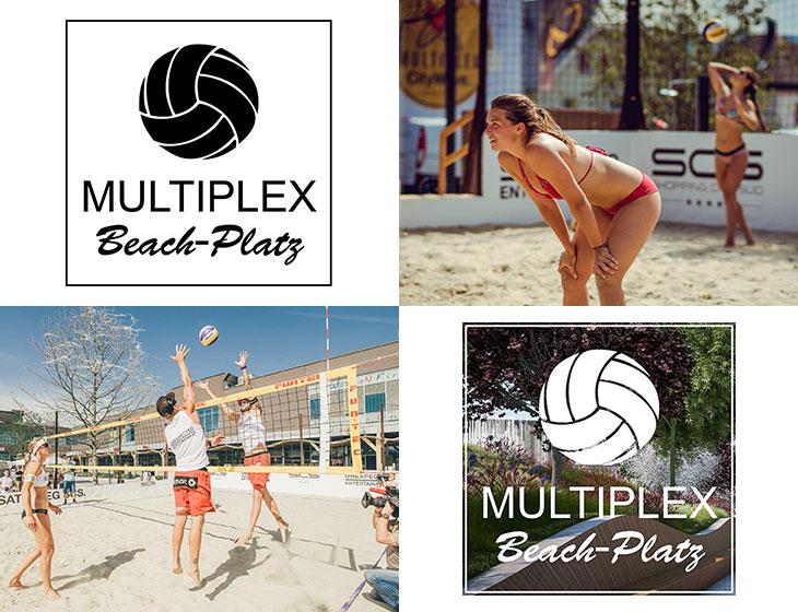MULTIPLEX Beach-Platz - (Mit-)Entwicklung, Betrieb, Branding, Logo, facebook-Page (2017)