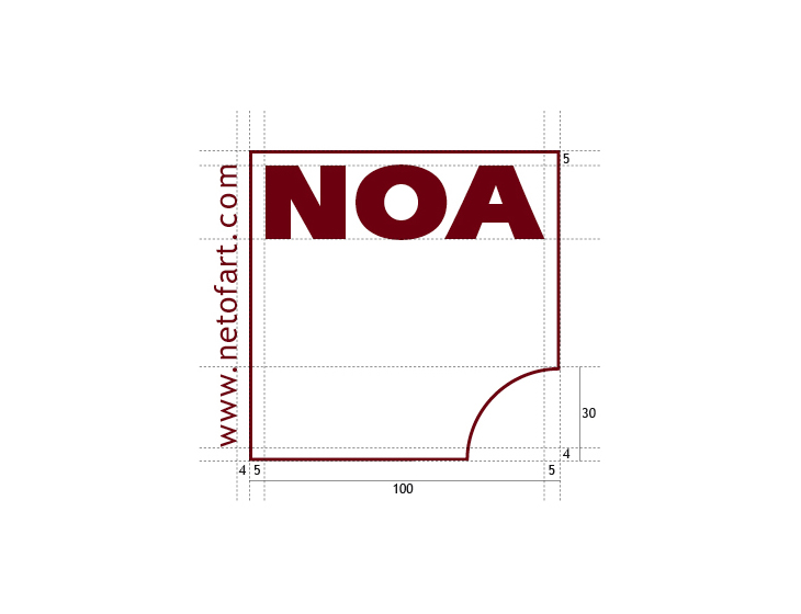 NOA - Branding, Logo-Entwicklung (2007)