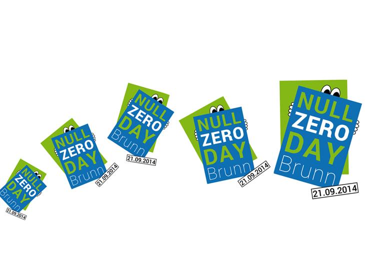 Null-Zero-Day - Branding, Logo-Entwicklung, Plakat, Event-Management (2014)