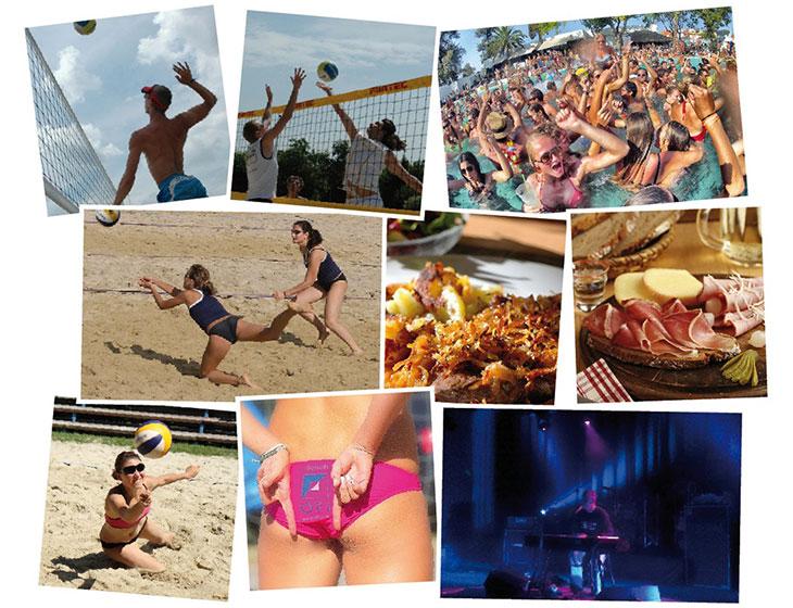 Paradise Beach - Collage