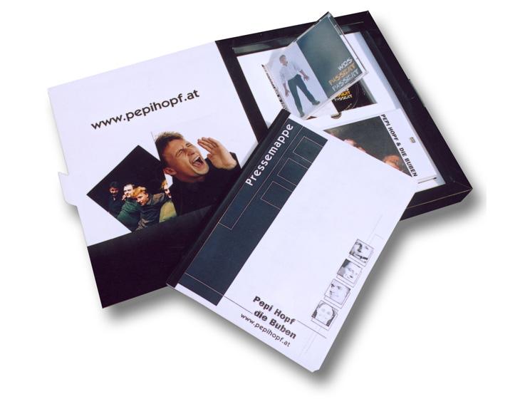 Pepi Hopf & die Buben - PR - Box