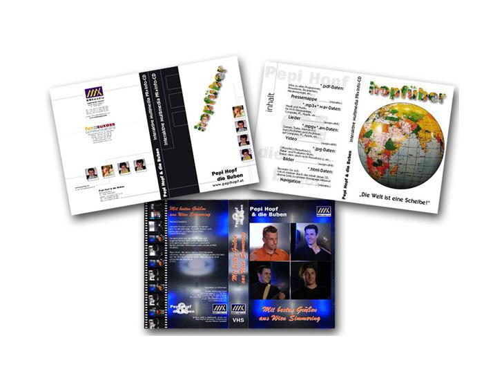 Pepi Hopf & die Buben - Video & DVD - Layouts