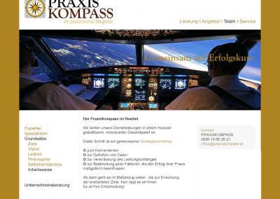 PRAXISKOMPASS - Website