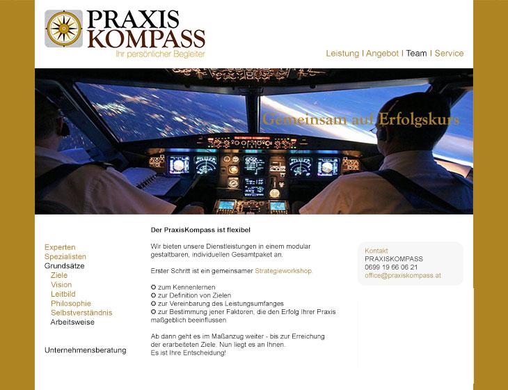 PRAXISKOMPASS - Website