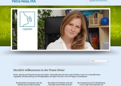 Praxis-Heiss-Website