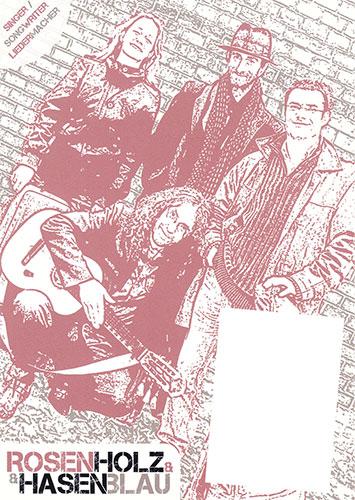 Rosenholz & Hasenblau - Plakat