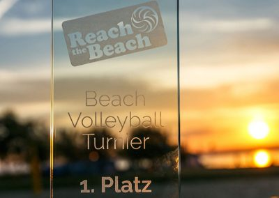 Reach the Beach - Pokal