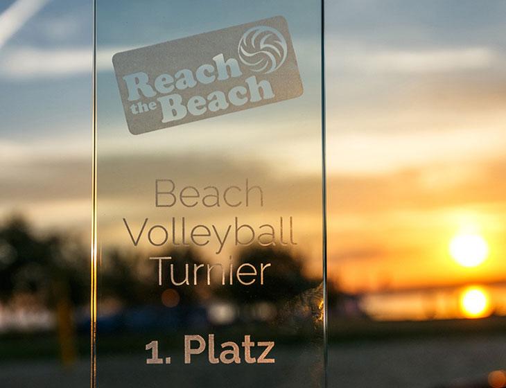 Reach the Beach - Pokal