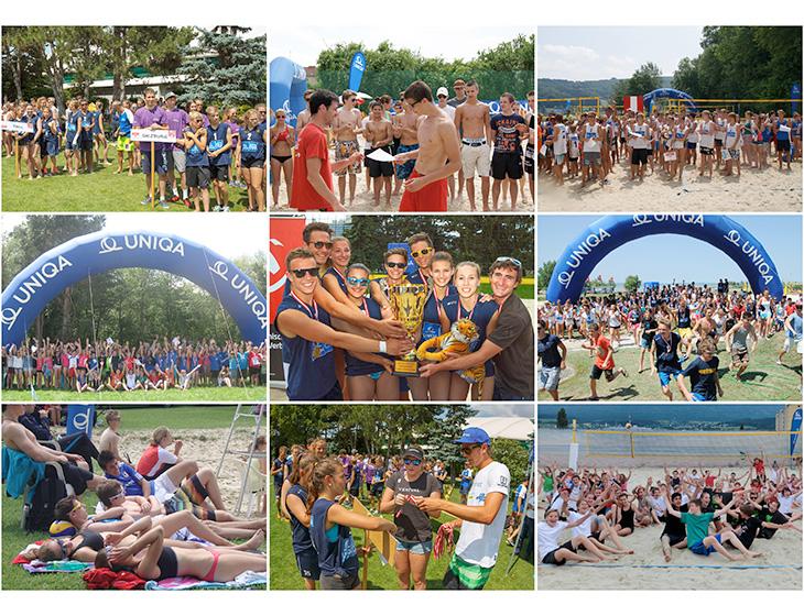 Schulbeach Cup - Collage - TeilnehmerInnen