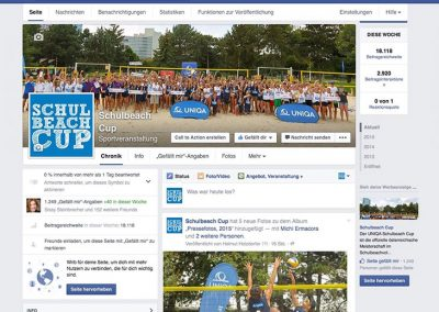 Schulbeach Cup - facebook-Fan-Page 2015