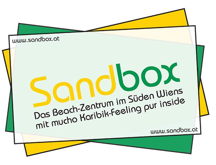 Sandbox - Location, Branding, Marketing (in Entwicklung)