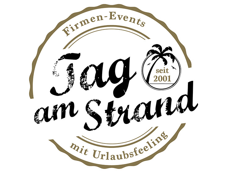 Tag am Strand - Logo