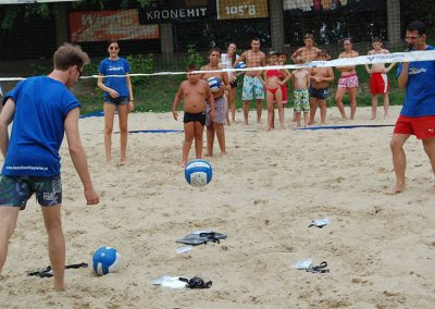 Volksbank Beachvolley Bädersommer - Moderation
