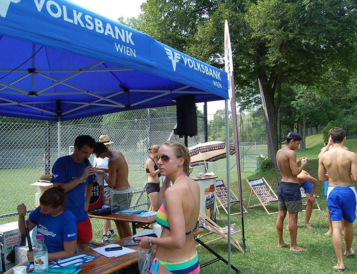 Volksbank Beachvolley Bädersommer - Turnierleitung