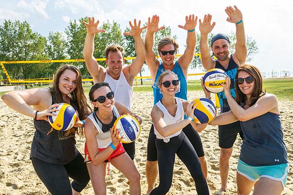 Reach the Beach - Johnson & Johnson - Team - Fun