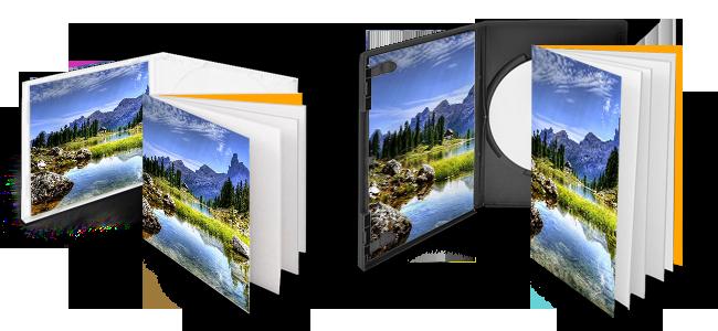 CD-/DVD-Booklets von FSC _ Druck