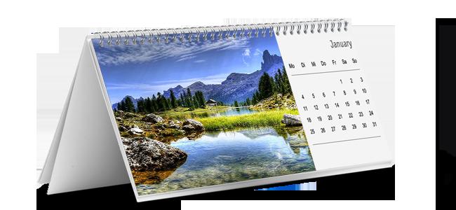 Tisch-Kalender von FSC _ Druck