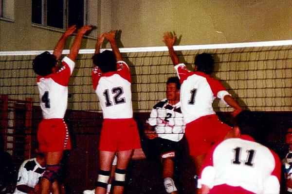 Volleyball-3er-Block